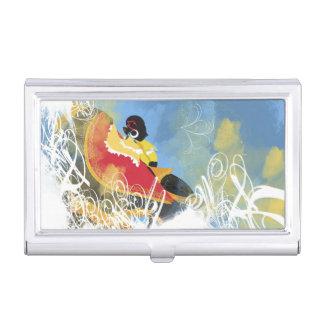 Artistic Pattern Business Card Holder