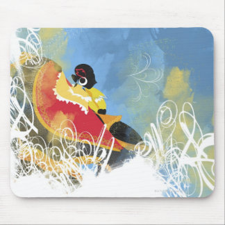 Artistic Pattern Mouse Pads