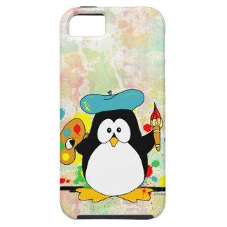 Artistic Penguin iPhone 5 Case
