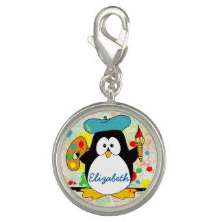 Artistic Penguin Painter Personalize