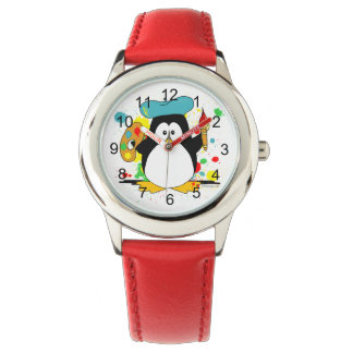 Artistic Penguin Watches