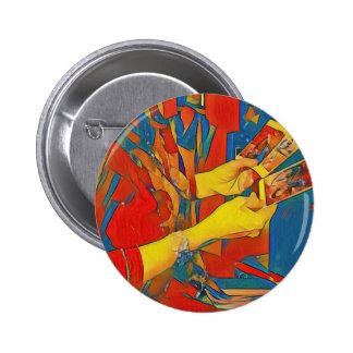 Artistic Physic Tarot Reading 6 Cm Round Badge
