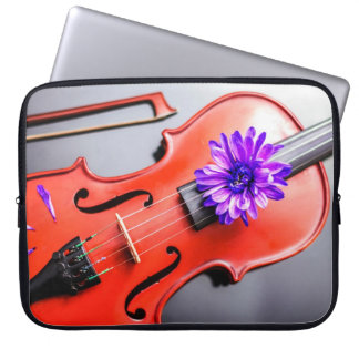 Artistic Poetic Violin Laptop Case