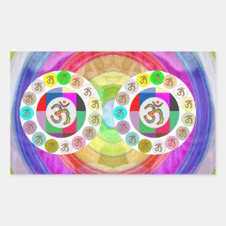 Artistic Presentation Matters - Dr Mantra Navin Rectangular Sticker
