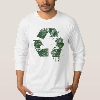Artistic Recycle Symbol T-Shirt
