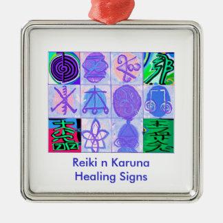 Artistic - Reiki Karuna Symbols 2 Christmas Ornament
