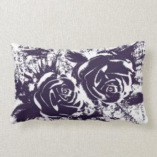 Artistic roses drawing pillow