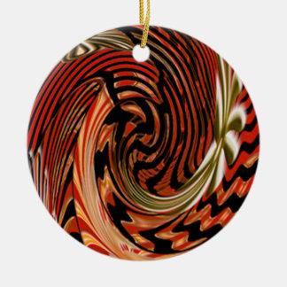 Artistic Round Ceramic Decoration