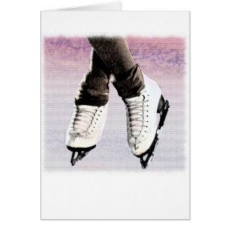 Artistic Skates Greeting Card