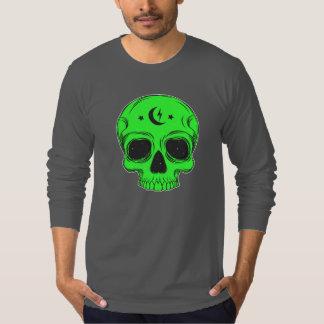 Artistic Skull (green) T-Shirt