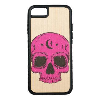 Artistic Skull Illustration Carved iPhone 8/7 Case