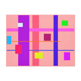 Artistic Space Customizable Gallery Wrapped Canvas