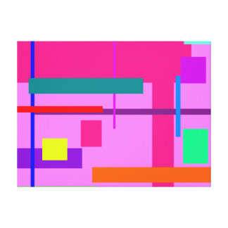 Artistic Space Heliotrope Gallery Wrap Canvas