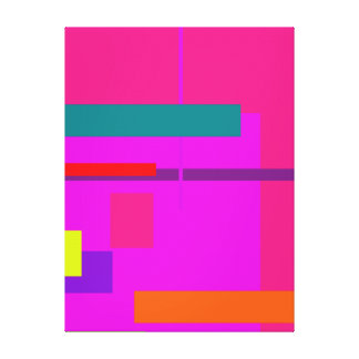 Artistic Space Pink Canvas Prints
