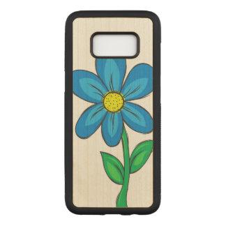 Artistic Spring Flower Carved Samsung Galaxy S8 Case