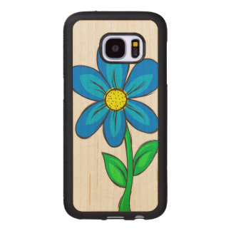 Artistic Spring Flower Wood Samsung Galaxy S7 Case