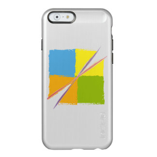 Artistic square design marries incipio feather® shine iPhone 6 case