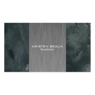Artistic Steel Accent 3 Pack Of Standard Business Cards