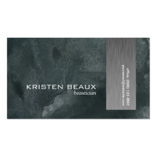 Artistic Steel Accent 4 Pack Of Standard Business Cards
