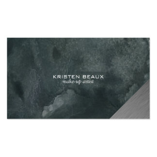 Artistic Steel Accent 5 Pack Of Standard Business Cards