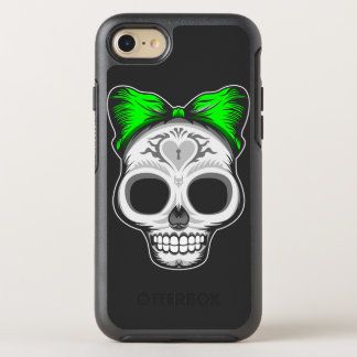 Artistic Sugar Skull OtterBox Symmetry iPhone 8/7 Case