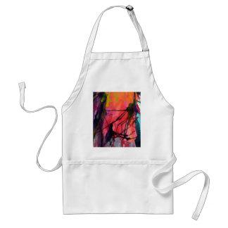 Artistic Texture, Colour Pattern Standard Apron