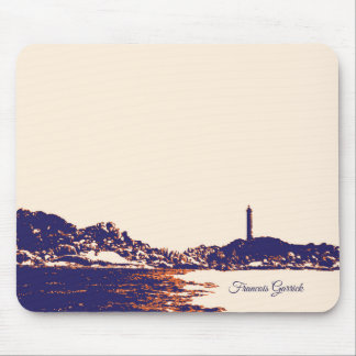 Artistic Vintage Lighthouse Personalized Mouse Pad