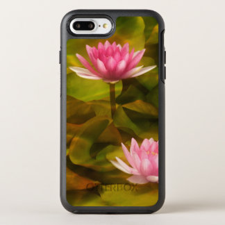 Artistic water lilies, California OtterBox Symmetry iPhone 7 Plus Case