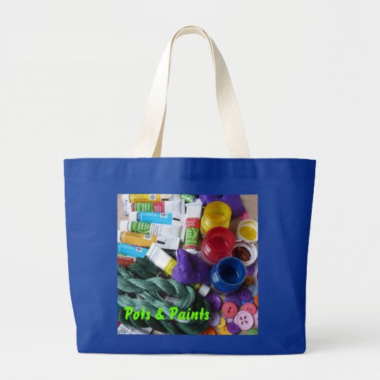 Artist's Bag!  (Customize) Large Tote Bag