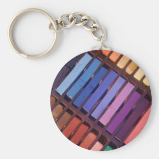 Artist's Color Pastels Key Ring