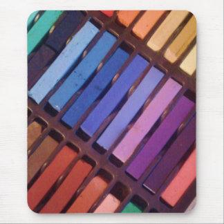 Artist's Color Pastels Mouse Pad