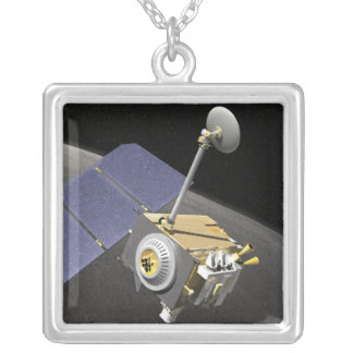 Artist's concept 10 silver plated necklace