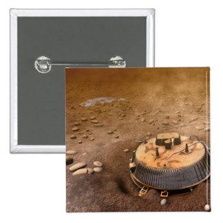 Artist's concept 15 cm square badge