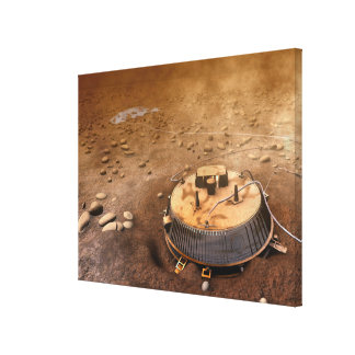 Artist's concept stretched canvas print