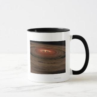 Artist's concept Mini Solar System in the Making Mug