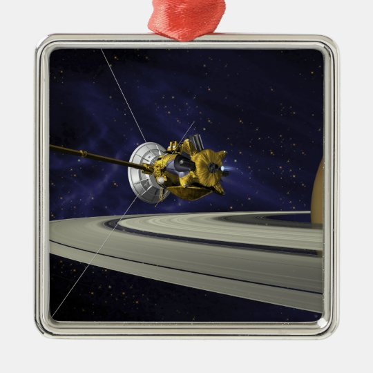 Artists concept of Cassini Christmas Ornament