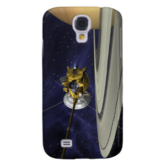 Artists concept of Cassini Samsung Galaxy S4 Cover