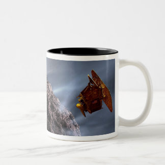 Artist's concept of Deep Impact's Encounter Two-Tone Coffee Mug