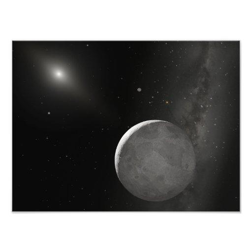 Artist's concept of Kuiper Belt object Photo Art