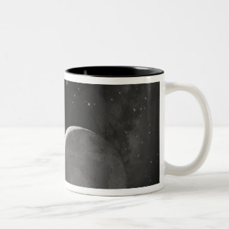 Artist's concept of Kuiper Belt object Two-Tone Coffee Mug
