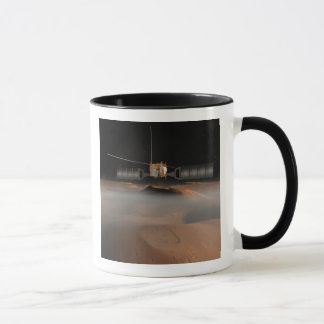 Artist's concept of Mars Express spacecraft Mug
