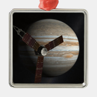 Artist's concept of the Juno spacecraft Christmas Ornament