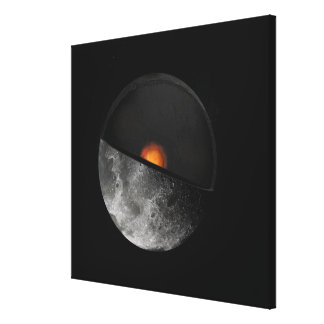 Artist's concept showing a possible inner core canvas print
