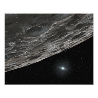 Artist's Conception of a Kuiper Belt Object Photo