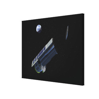 Artists conception of Spitzer Canvas Print