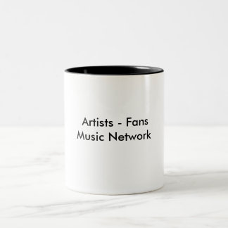 Artists - FansMusic Network Two-Tone Mug