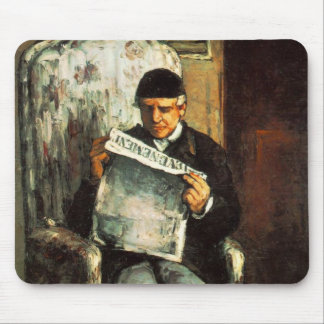 Artist's Father Mouse Pad