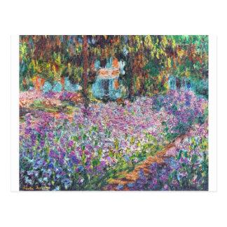 Artist's Garden Giverny Postcard