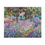 Artist's Garden Giverny Postcards