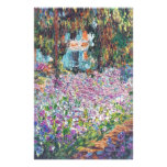 Artist's Garden Giverny Stationery Design